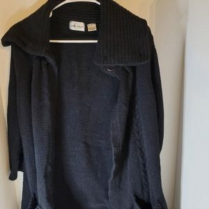 Caren Sport 2x black sweater